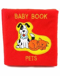 Plush Baby Book: Pets