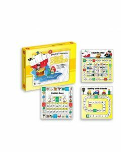 Blending Consonants Desk Games Pack of 3 Games