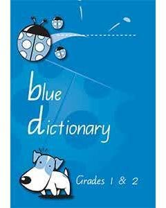 Blue Dictionary Queensland Font
