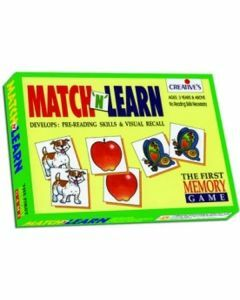 Match 'n' Learn First Memory Game (Ages 3+)