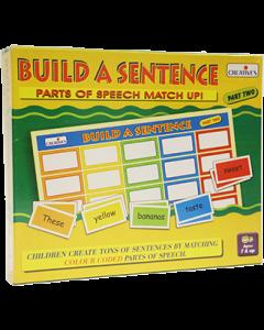 Build a Sentence Part 2 (Ages 7+)