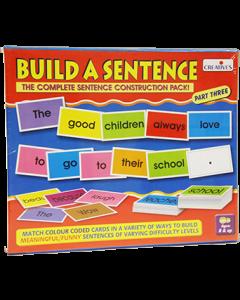 Build a Sentence Part 3 (Ages 8+)