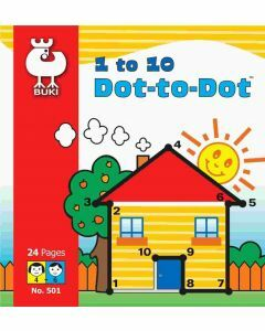 1 to 10 Dot to Dot Book