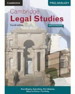 Cambridge Preliminary Legal Studies 4E (Print and Digital)