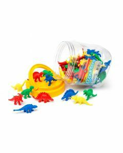Dinosaur Counters Jar of 64 (Ages 3+)
