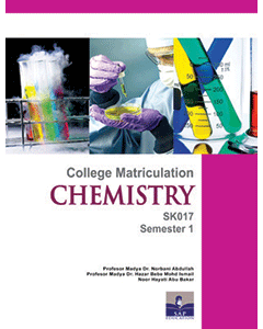 College Matriculation Chemistry Semester 1