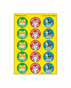 Scratch 'n Sniff Stinky Stickers Cinnamon scent & Purr-fect Pets