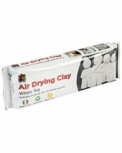 Air Drying Clay - White 1kg (Ages 3+)