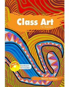Class Art for Teachers (Includes Smartboard CD)