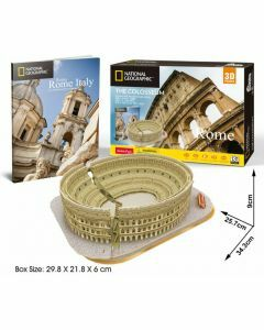 National Geographic 3D Puzzle & Book - The Colosseum (Ages 8+)