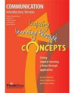 Communication Introductory Version (Yrs 1-5) - Inquiry Learning Through Concepts
