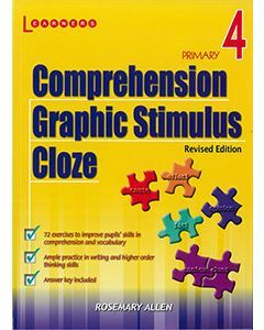 Comprehension, Graphic Stimulus, Cloze Book 4 Revised Edition