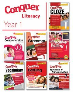 Conquer Literacy Bundle 1