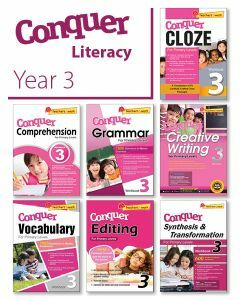 Conquer Literacy Bundle 3