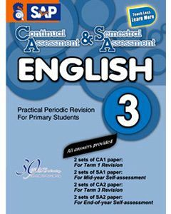 Continual Assessment & Semestral Assessment English 3