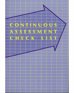 Continuous Assessment Check List