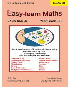 Basic Skills - Easy Learn Maths 2B (Basic Skills No. 133)