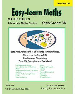 Basic Skills - Easy Learn Maths 3B (Basic Skills No. 135)