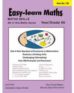 Basic Skills - Easy Learn Maths 4A (Basic Skills No. 136)