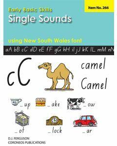 Early Basic Skills 1: Single Sounds using NSW font (No. 266)