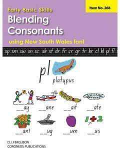 Early Basic Skills 3: Blending Consonants using NSW font (No. 268)