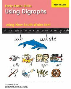 Early Basic Skills 4: Using Digraphs using NSW font (No. 269)