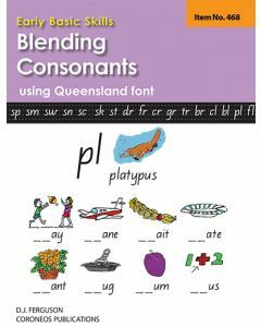 Early Basic Skills 3: Blending Consonants using Queensland font (No. 468)