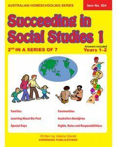 Succeeding in Social Studies Year 1 (Title No. 504)