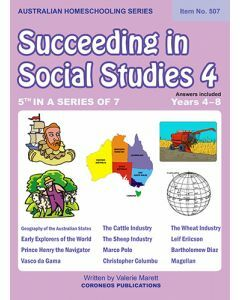 Succeeding in Social Studies Year 4 (Title No. 507)