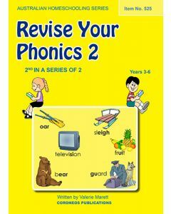 Revise Your Phonics 2 (Australian Homeschooling Series) (Item No. 525)