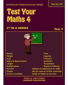 Test Your Maths 4 (item No. 534)