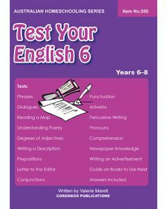 Test Your English 6 (Item no.550)
