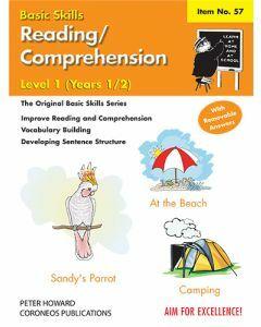 Reading / Comprehension Level 1 Yrs 1 to 2 (Basic Skills No. 57)