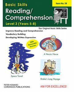 Reading / Comprehension Level 3 Yrs 5 to 8 (Basic Skills No. 59)