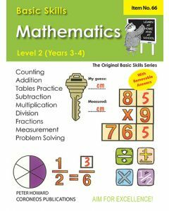 Basic Skills Maths Level 2 Yrs 3 - 4 (Basic Skills No. 66)
