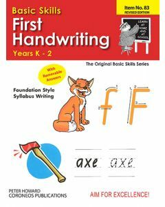First Handwriting Yrs K to 2 (Basic Skills No. 83)