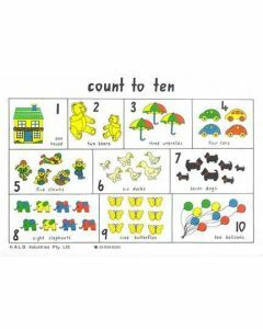 Count to Ten Placemat