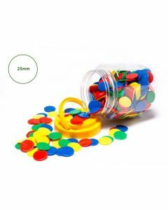 The 'Quiet' Counters Jar of 400 (Ages 3+)