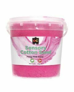Sensory Cotton Sand - Pink 700g (Ages 3+)