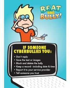 Beat the Bully A3 Poster 5. If someone cyberbullies you