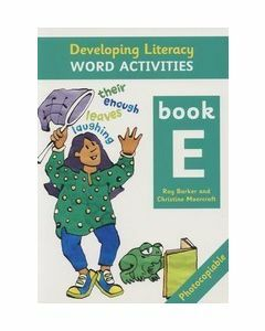 Developing Literacy Word Activities E