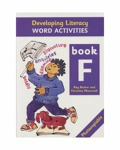 Developing Literacy Word Activities F