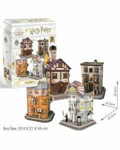 Hogwarts Diagon Alley 280 Piece 3D Puzzle (Ages 8+)