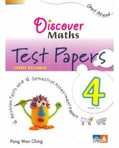 Discover Maths Test Papers P4