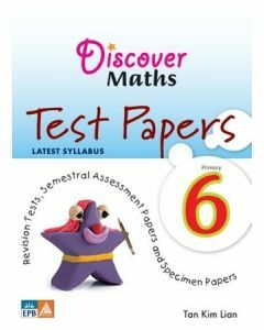 Discover Maths Test Papers P6