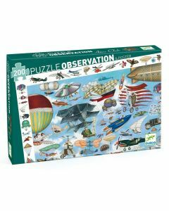 Djeco Aero Club 200 Piece Observation Puzzle (Ages 6+)