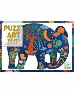 Djeco Elephant 150 Piece Art Puzzle (Ages 6+)