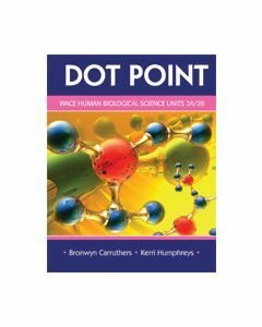 Dot Point WACE Human Biological Science 2A & 2B (Available to Order)