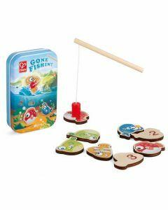 Hape Gone Fishin' Magnetic Game Tin (Ages 2+)