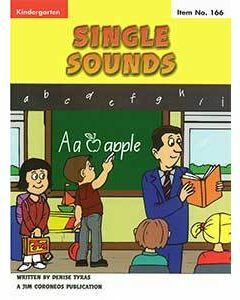 Early Learning Skills Book 1 Preschool / Kinder Single Sounds (No. 166)